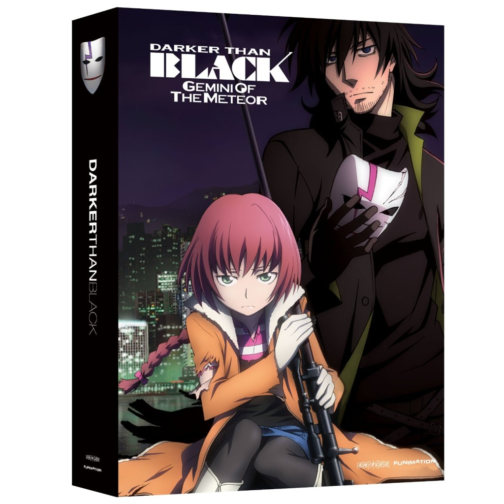 DVDs Blu-rays Anime Novembro 2011 | Darker Than Black Season 2 Limited Edition Blu-ray DVD Combo