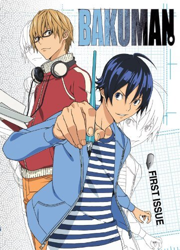 DVDs Blu-rays Anime Novembro 2011 | Bakuman First Issue