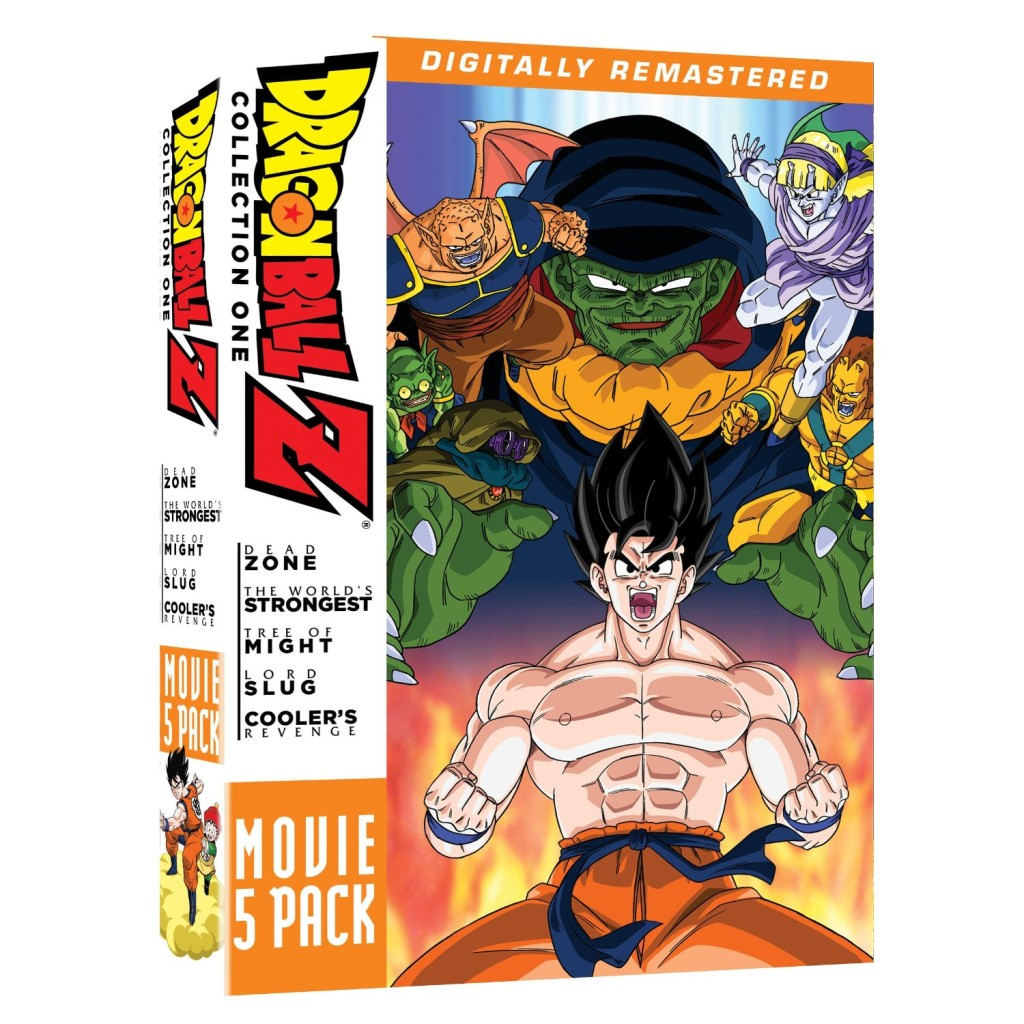 DVDs Blu-rays Anime Novembro 2011 | Dragon Ball Z Movie Pack Collection One