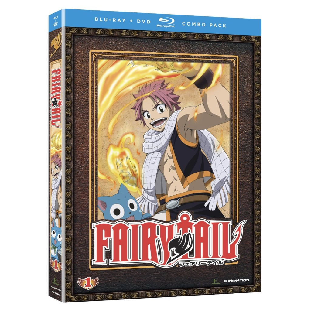 DVDs Blu-rays Anime Novembro 2011 | Fairy Tail Part 1 Blu-ray DVD Combo
