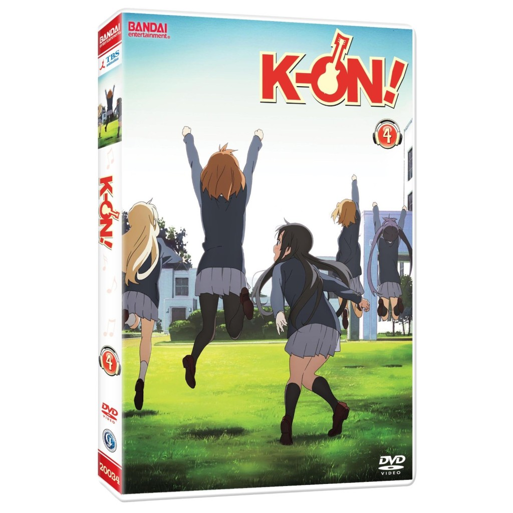 DVDs Blu-rays Anime Novembro 2011 | K-On! Volume 4