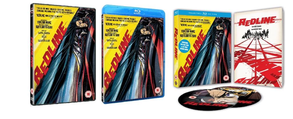 DVDs Blu-rays Anime Novembro 2011 | Redline