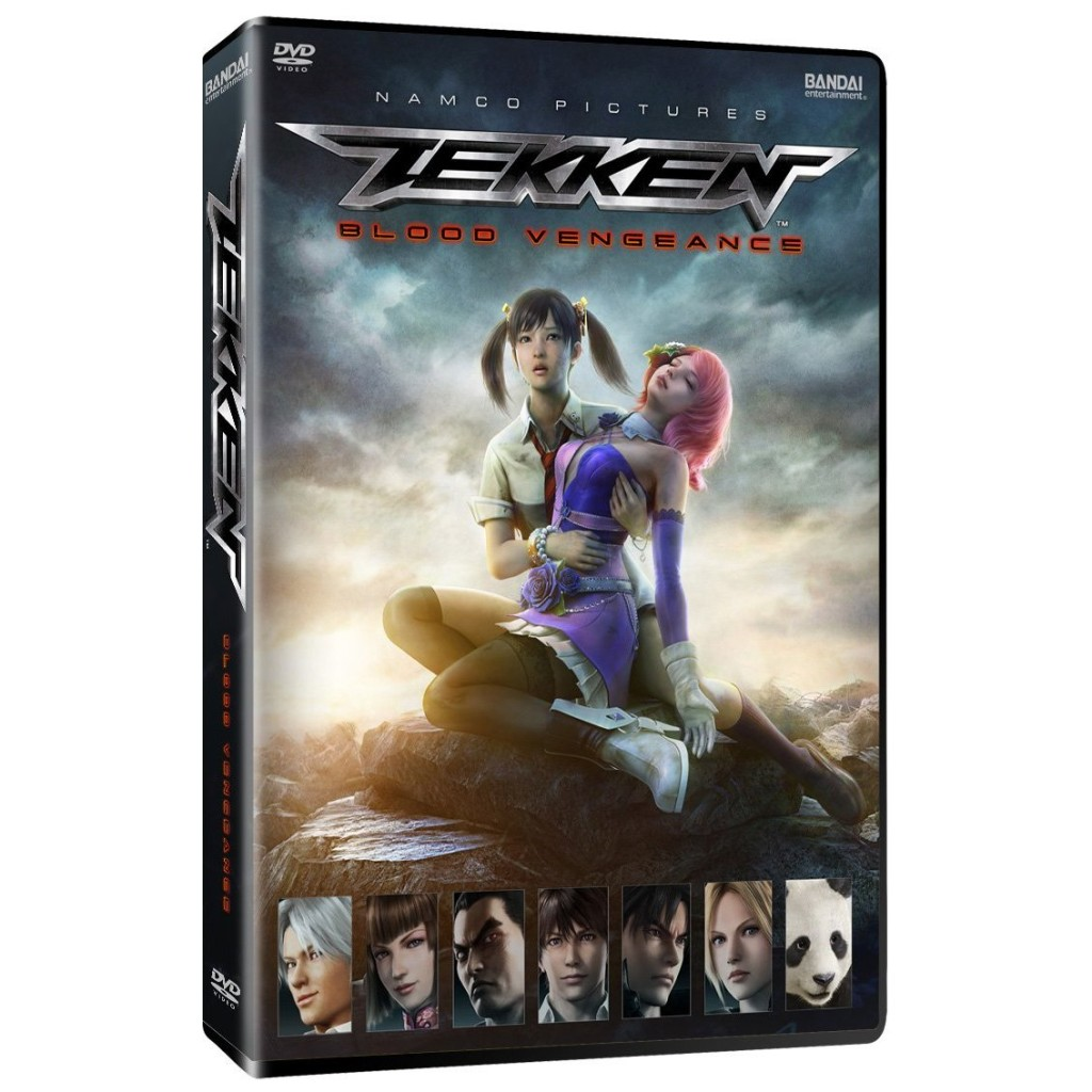 DVDs Blu-rays Anime Novembro 2011 | Tekken: Blood Vengeance