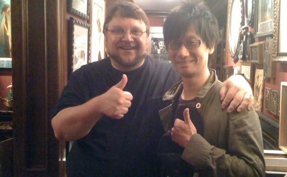 Hideo Kojima e del Toro vão colaborar em novo projeto