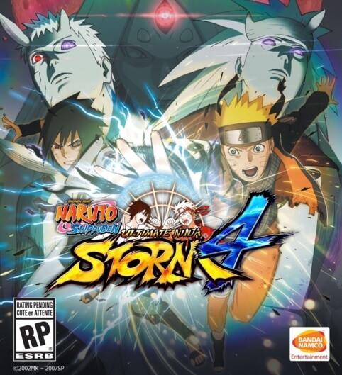 Capa do jogo - Naruto Shippūden: Ultimate Ninja Storm 4