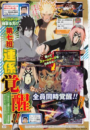Naruto Storm 4 revela Team Awakening | Nova Caraterística