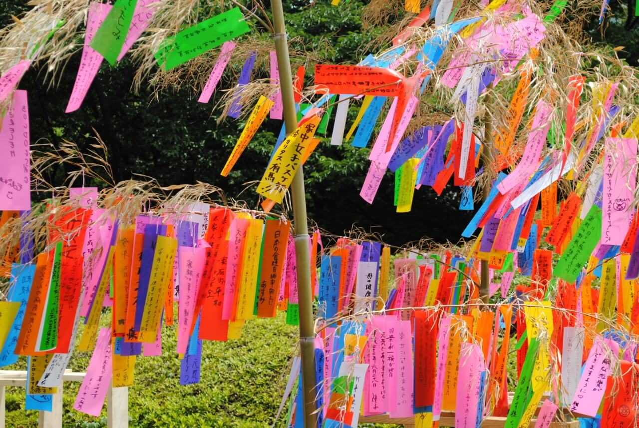 tanabata desejos