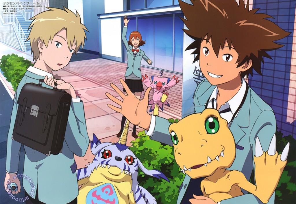 Digimon Adventure Tri publica poster do primeiro filme