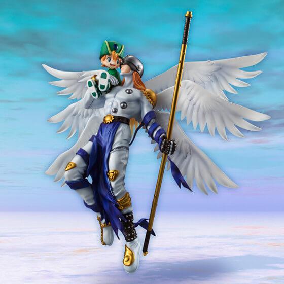 Figura Takeru e Angemon Digimon 2