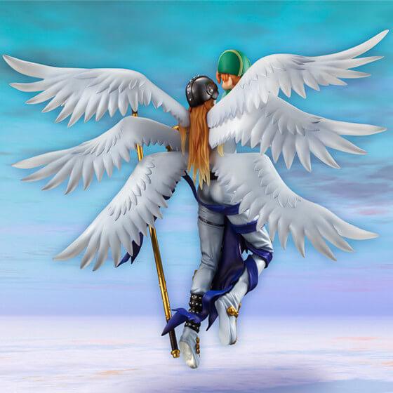 Figura Takeru e Angemon Digimon 3