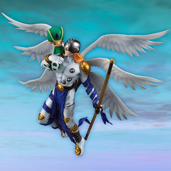 Figura Takeru e Angemon Digimon 4