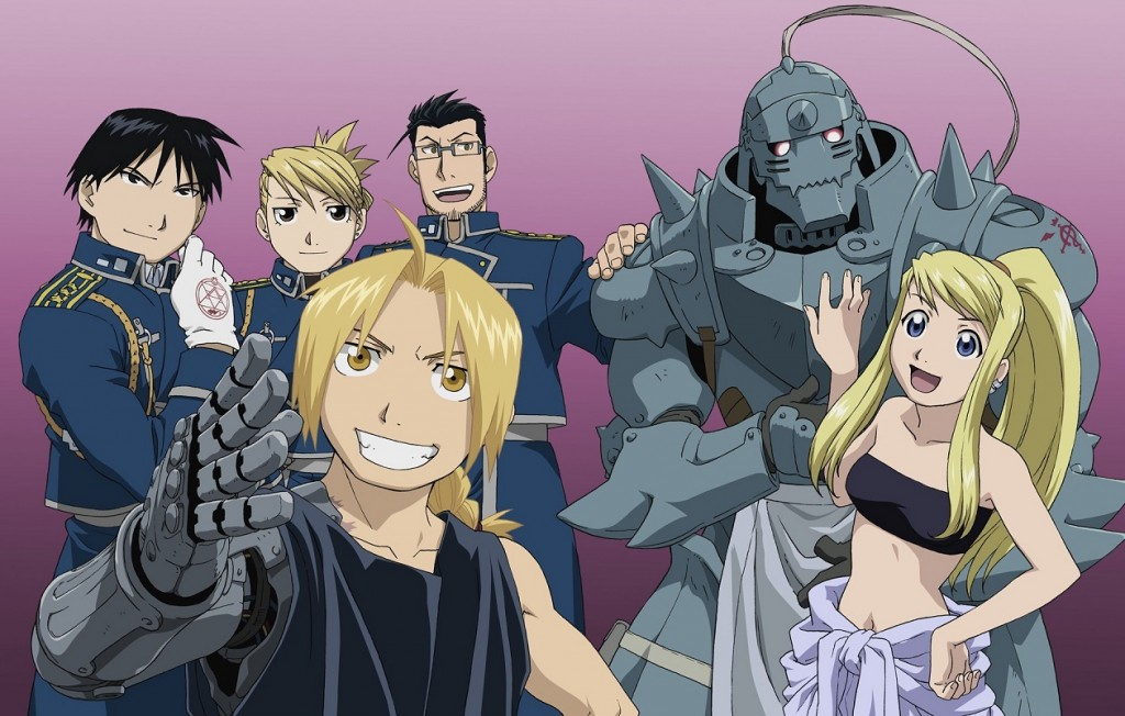 Anime Fullmetal Alchemist Brotherhood