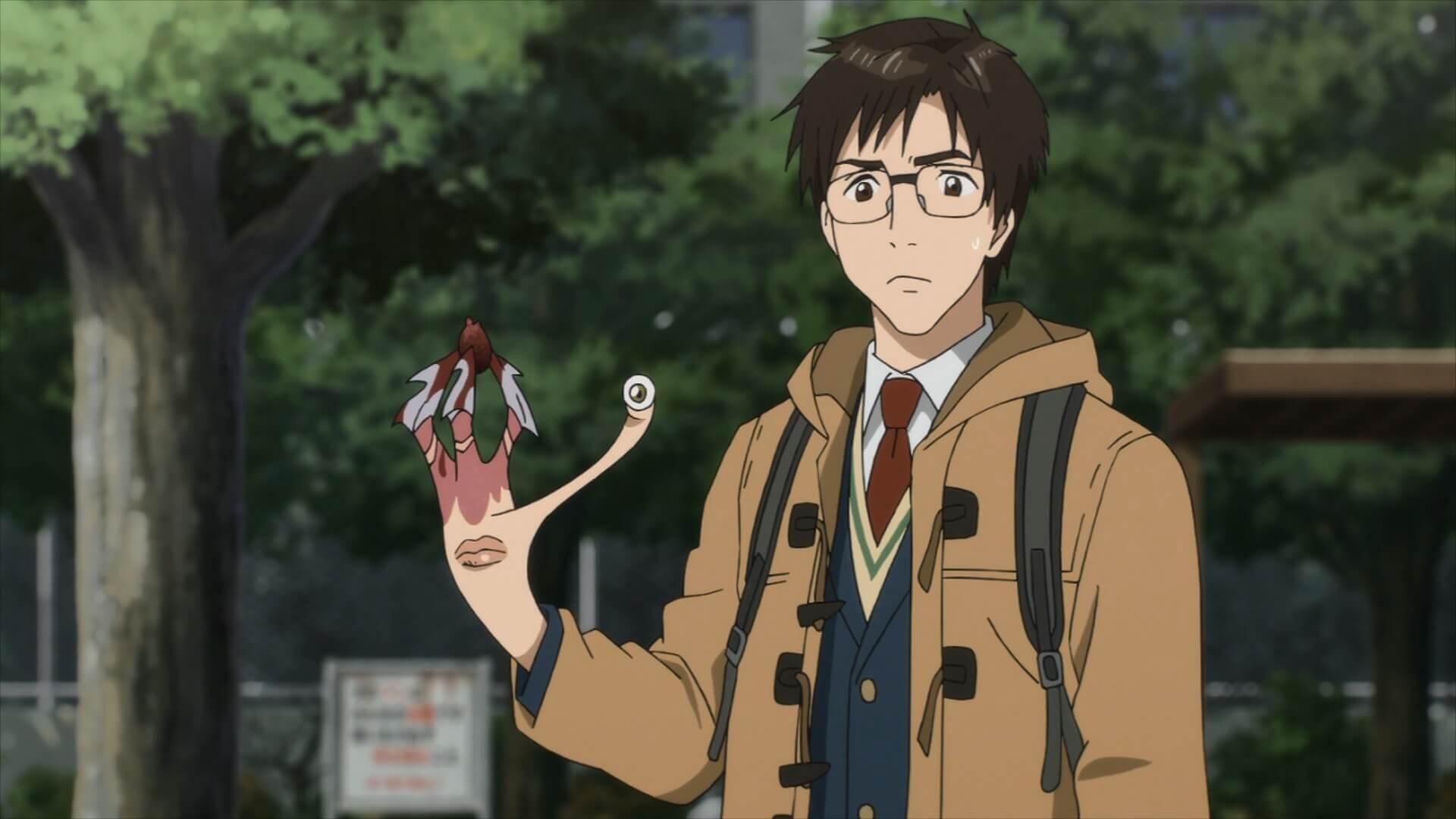 Kết quả hình ảnh cho Kiseijuu: Sei no Kakuritsu (Parasyte -the maxim-) anime