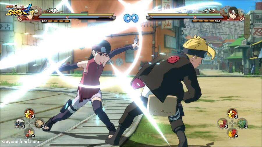 Naruto Storm 4 divulga imagens de Boruto vs Sarada
