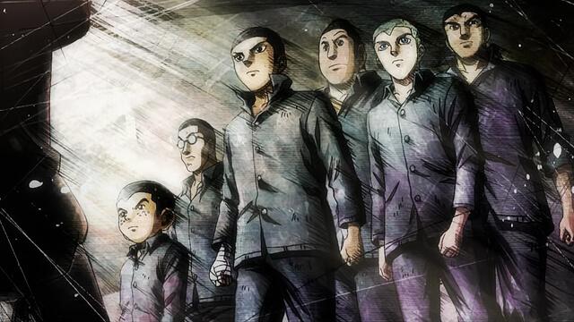 Grupo dos sete adolescentes à procura do raio de esperança