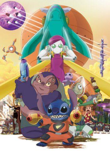 Stitch Anime com episódio especial neste verão