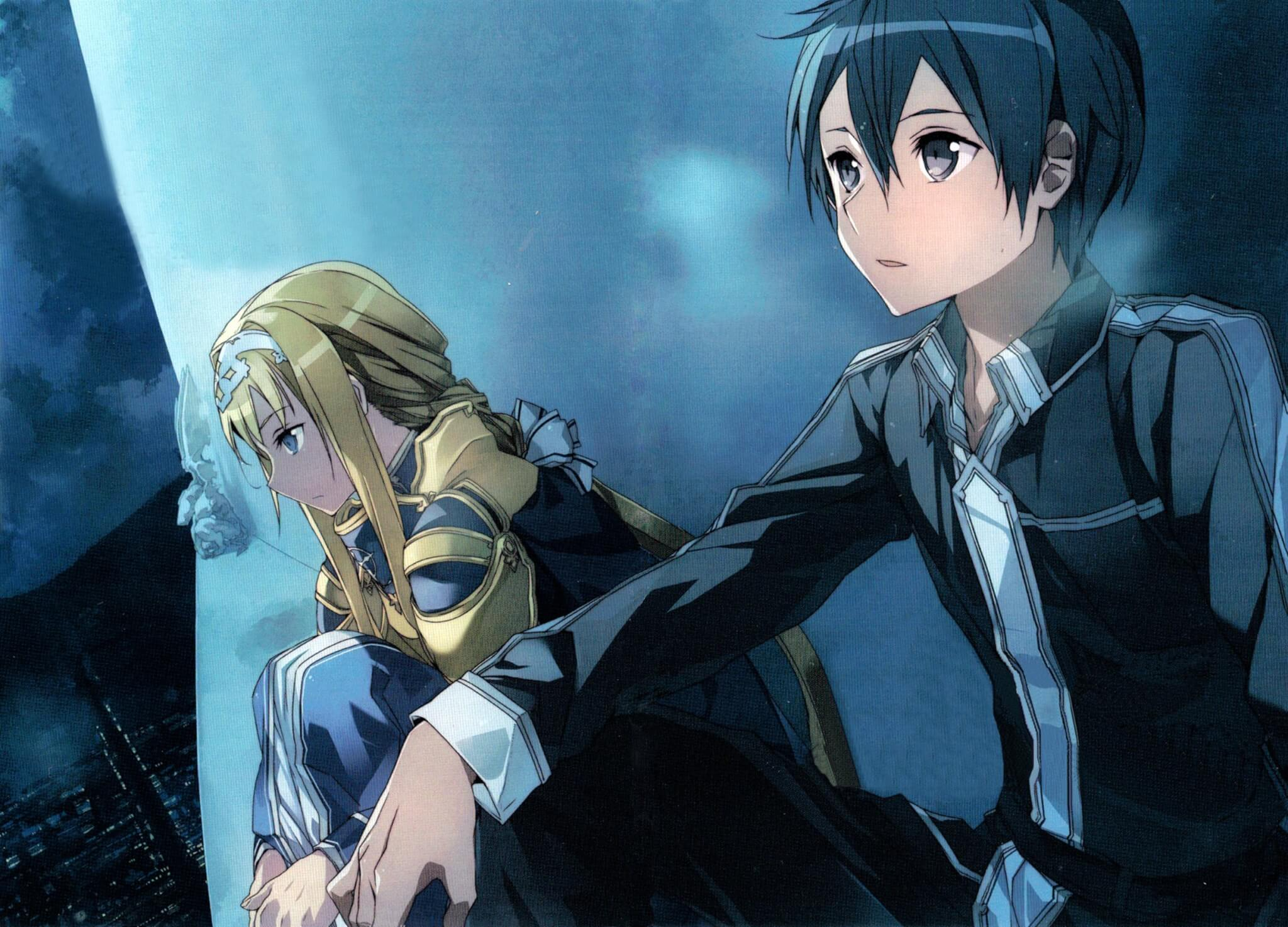 Sword Art Online Alicization Imagem Destaque Light Novel