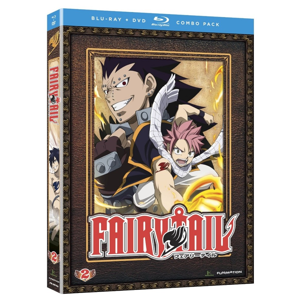 DVDs Blu-rays Anime Dezembro 2011 | Fairy Tail Part 2 Blu-ray DVD Combo