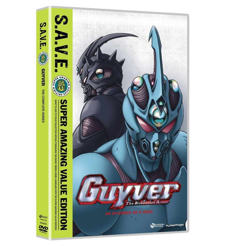 DVDs Blu-rays Anime Dezembro 2011 | Guyver The Bioboosted Armor SAVE