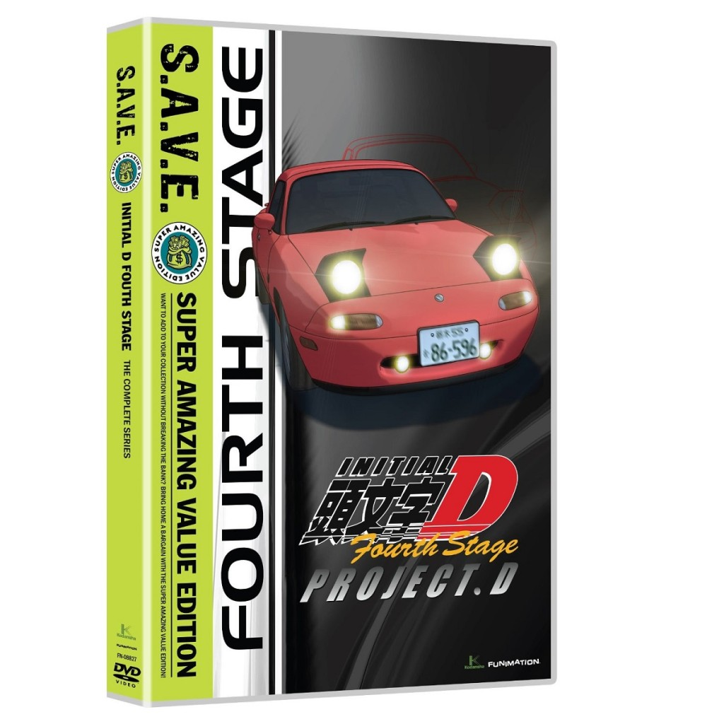 DVDs Blu-rays Anime Dezembro 2011 | Initial D Fourth Stage SAVE
