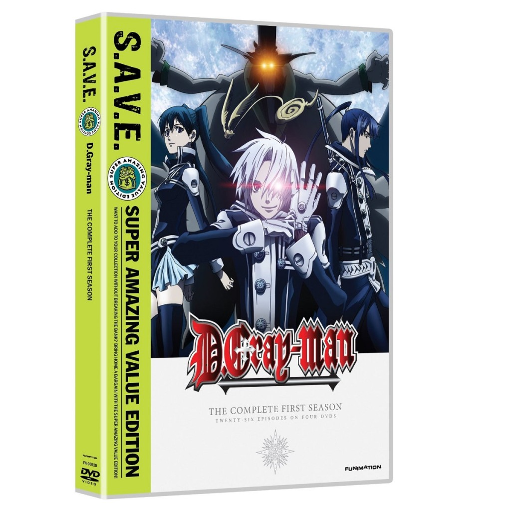 DVDs Blu-rays Anime Dezembro 2011 | D. Gray-man The Complete First Season SAVE