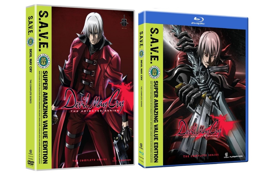 DVDs Blu-rays Anime Dezembro 2011 | Devil May Cry The Complete Series SAVE
