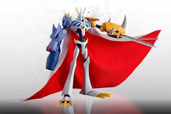 Digimon Omegamon junta-se às figuras Bandai