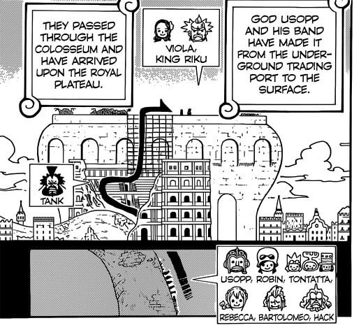 Manga One Piece | Capítulo 750