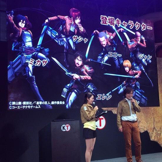 Shingeki no Kyojin divulga 8 minutos de gameplay | KOEI Tecmo Games