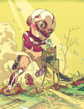 Attack on Titan Anthology com Influências ocidentais