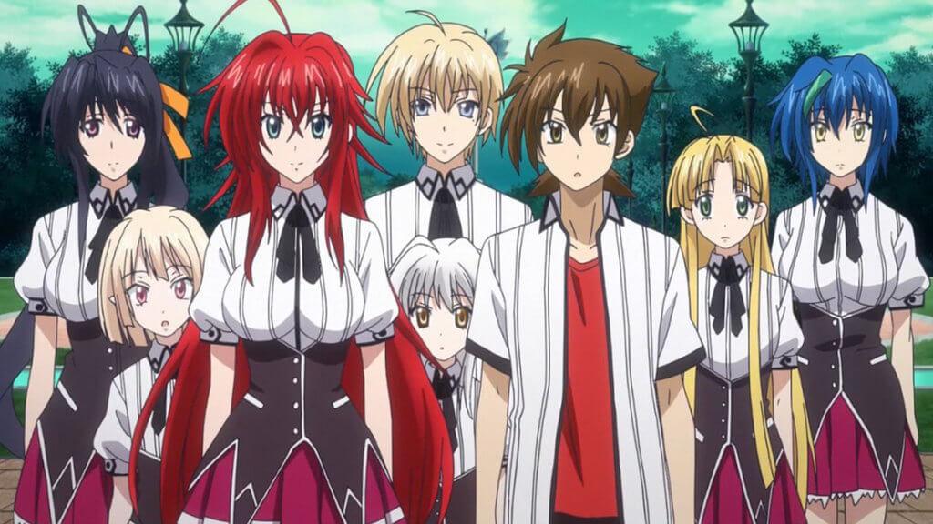 High School DxD BorN Historia