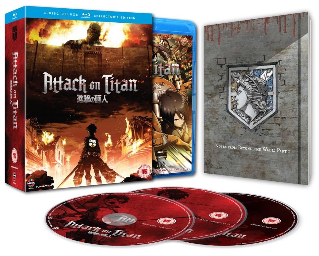 O que oferecer neste Natal | Attack on Titan Blu-ray