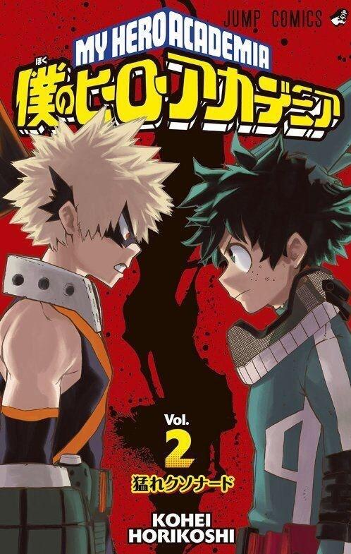Capa Manga Boku no Hero Academia Volume 19 revelada!