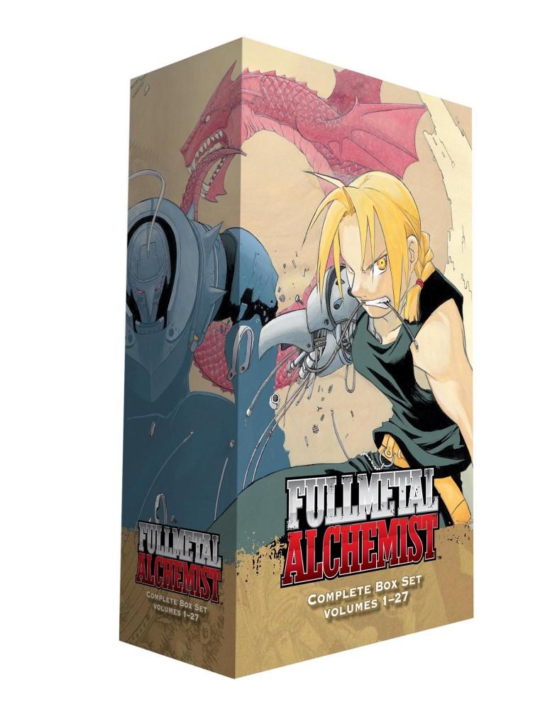 O que oferecer neste Natal | Fullmetal Alchemist Box Set Manga