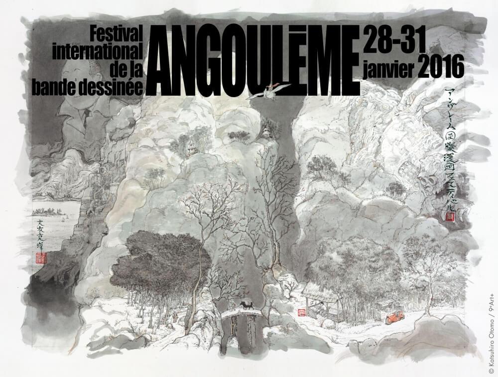 Katsuhiro Otomo Angouleme Comic Fest