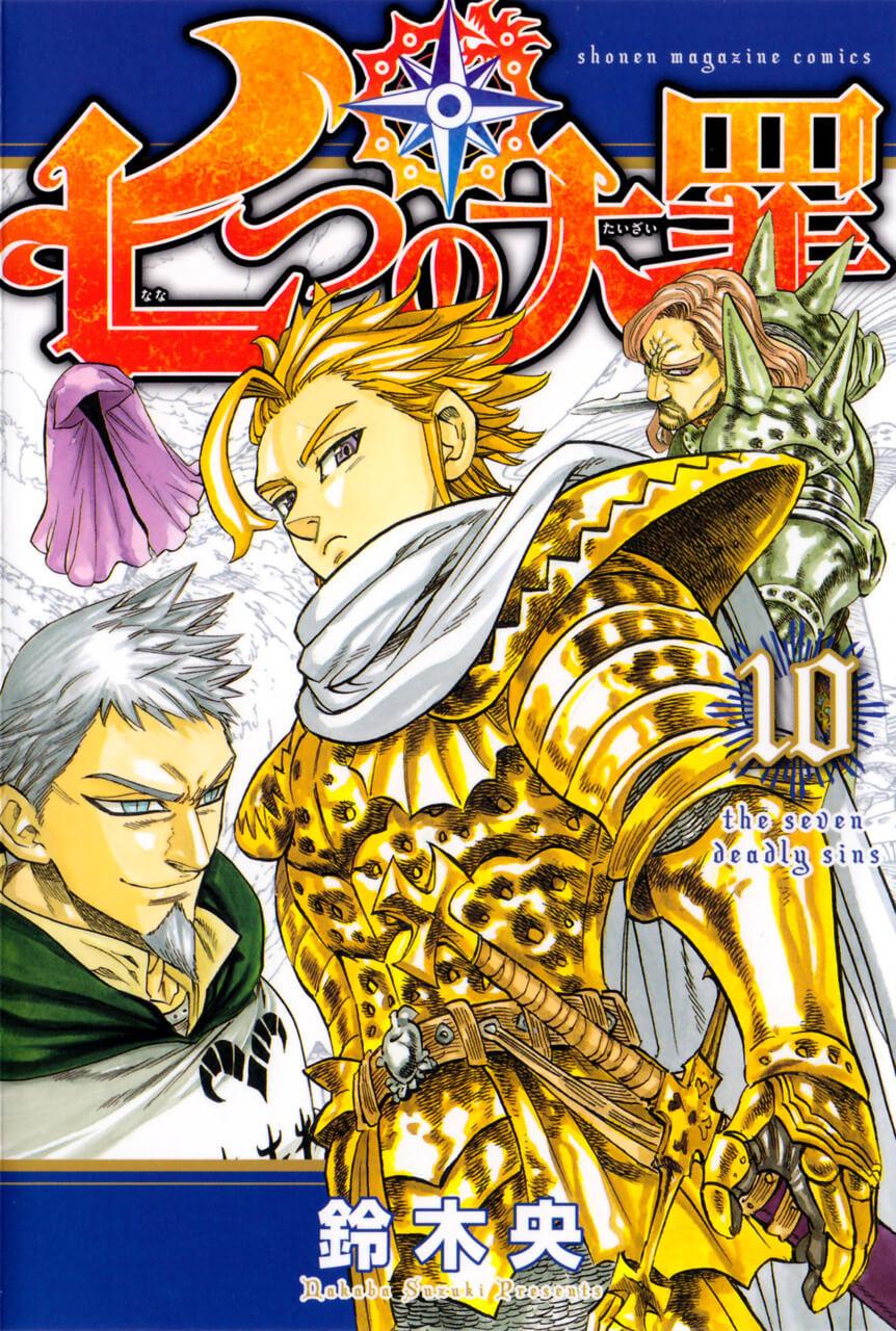 Capa Manga Nanatsu no Taizai Volume 35 revelada