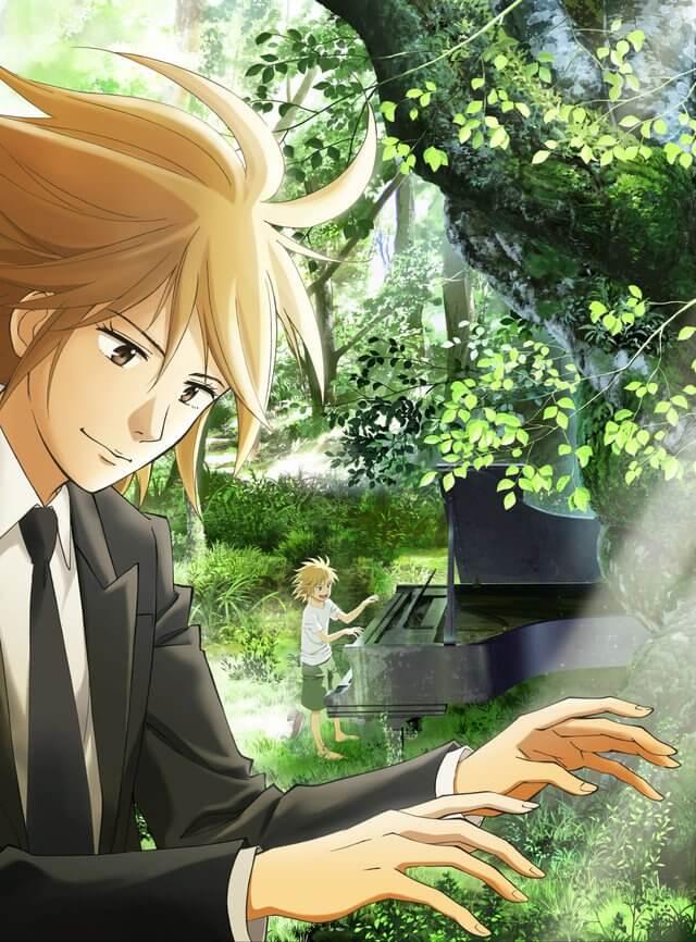 Piano no Mori - Anime revela Novo Vídeo Promocional