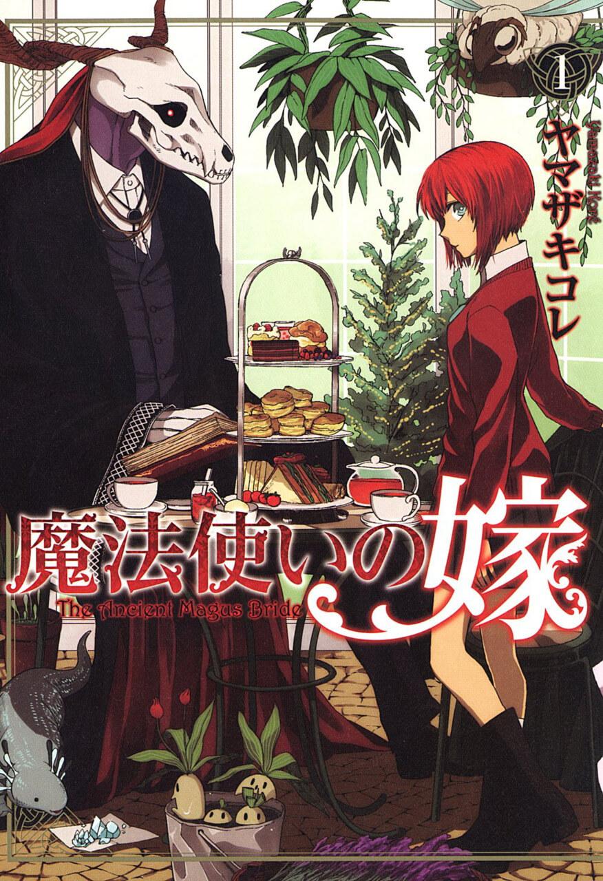 Capa Manga Mahoutsukai no Yome Volume 4 anunciada