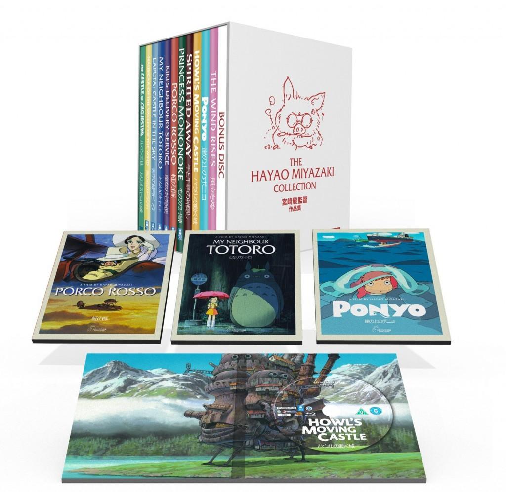 O que oferecer neste Natal | The Hayao Miyazaki Collection DVD