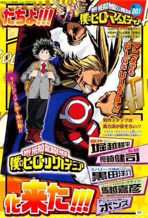 Boku no Hero Academia revela Equipa Técnica | Anime