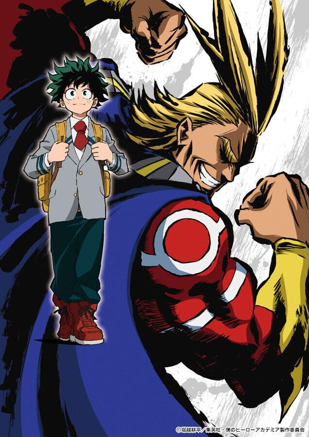 Studio Bones irá produzir Boku no Hero Academia | Anime | Boku no Hero Academia revela Vídeo Promocional #1