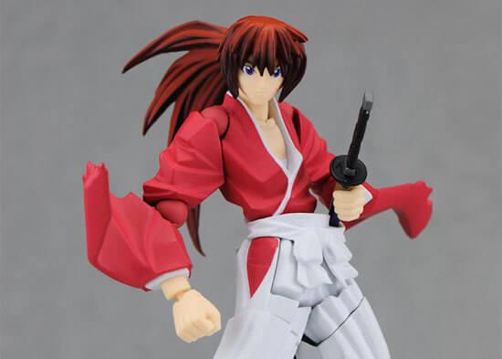 Himura Kenshin, sem alma, de Rurouni Kenshin.