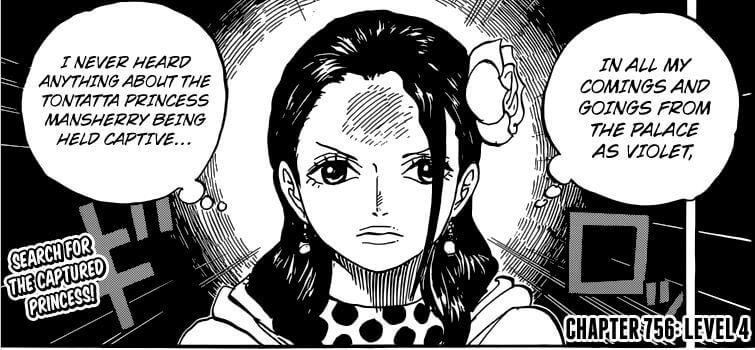 Manga One Piece Capítulo 756
