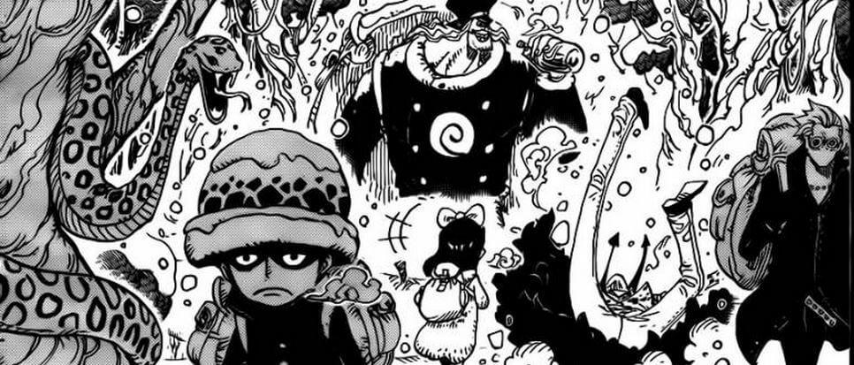 Manga One Piece Capítulo 763