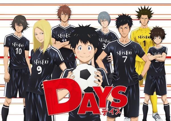 DAYS revela Realizador e Estúdio de Produção | DAYS apresenta Animação em Teaser | Anime Futebol
