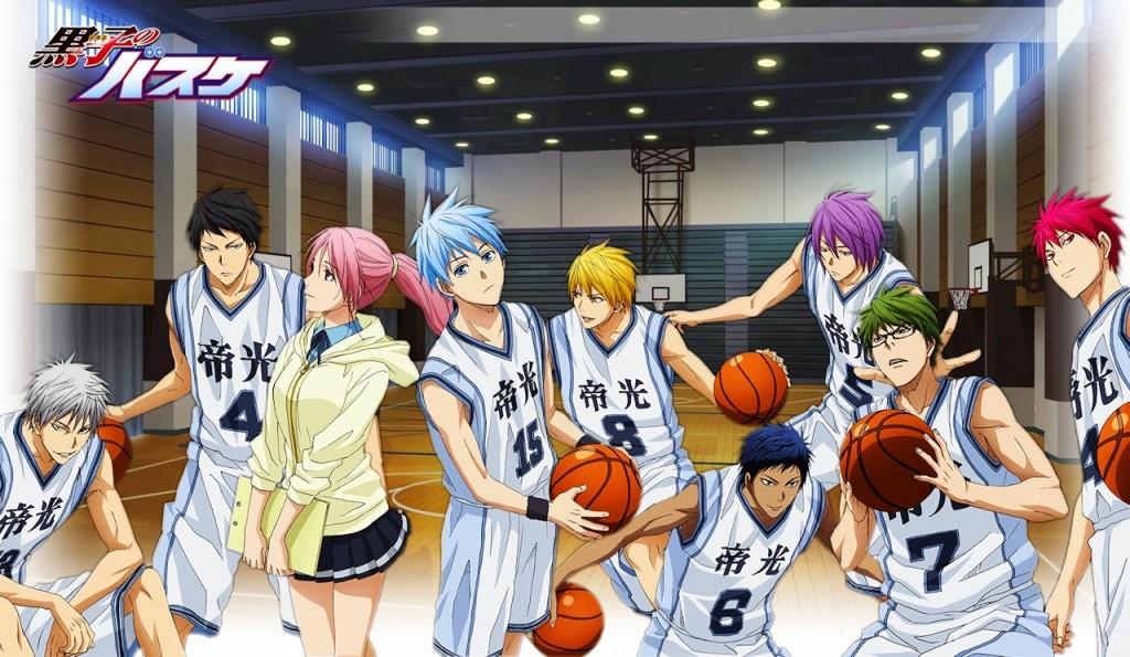 Kuroko no Basket Extra Game termina em Março