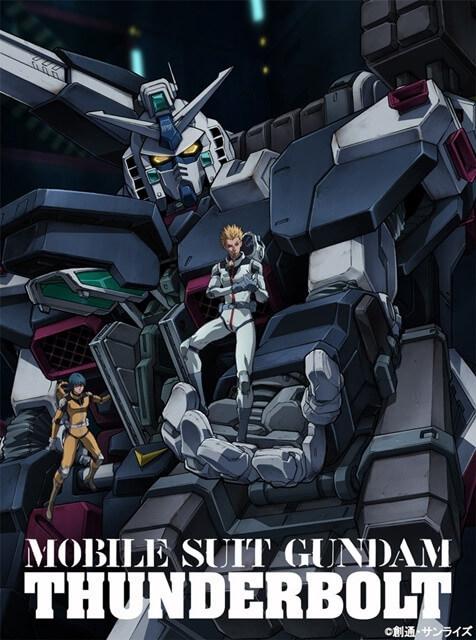 Gundam Thunderbolt divulgou Data do Terceiro Episódio
