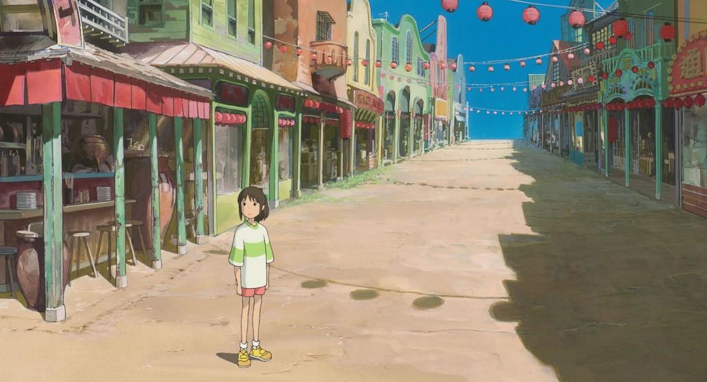 A Viagem de Chihiro Spirited Away foi baseado num conto da vida real