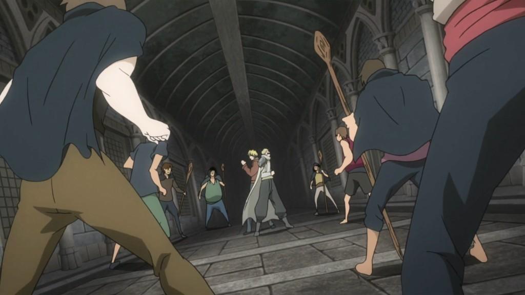 Fairy Tail Zero - Anime Fundadores batalha