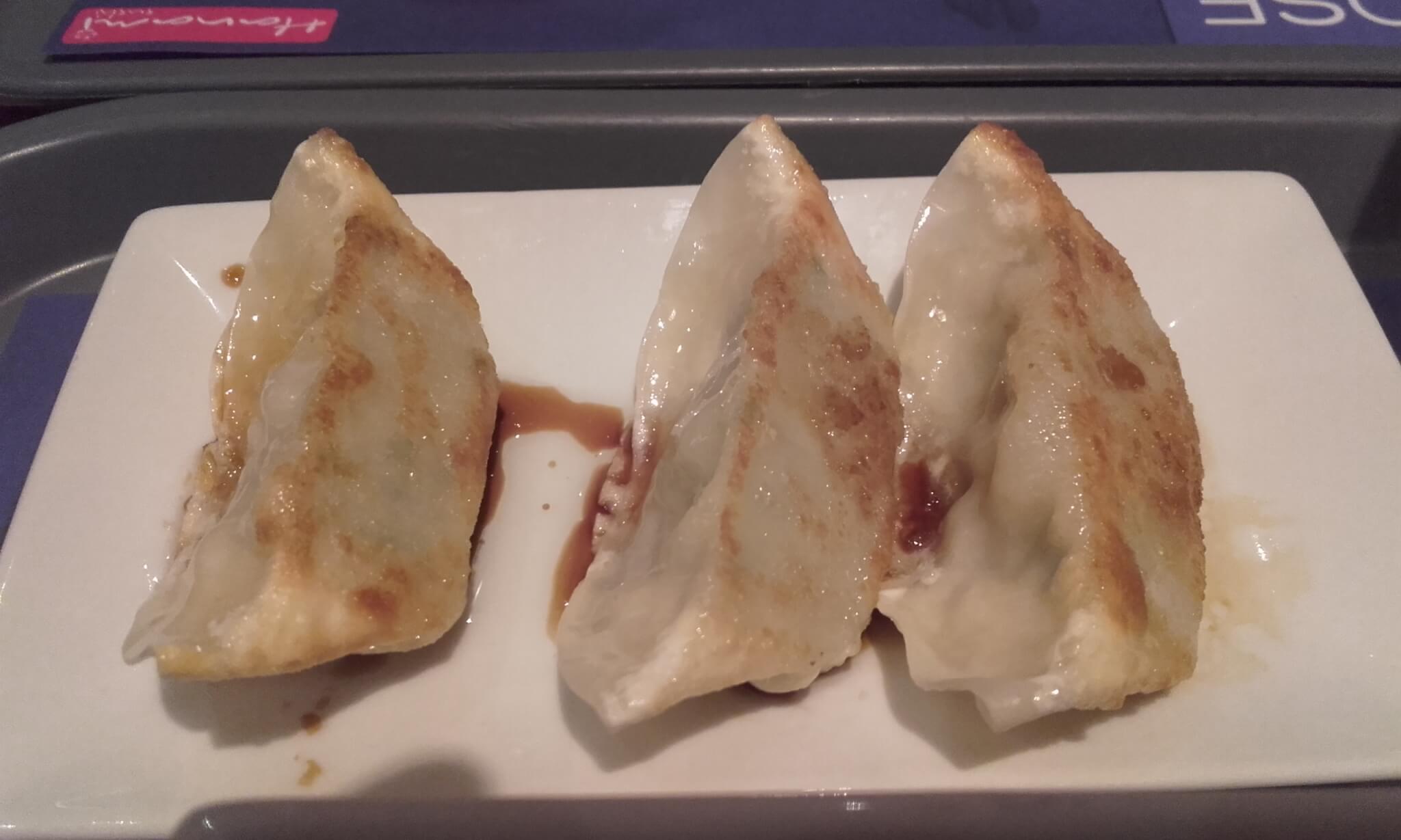 hanami sushi entrada gyoza